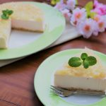 【レシピ:ヨーグルト】「レアチーズケーキ」桃の節句にちなんで春らしいスイーツを作ってみました♪
