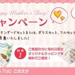 【お知らせ】「母の日キャンペーン」開催中!!