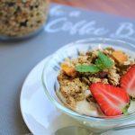 【レシピ】「自家製グラノーラ」メープルシロップのあま~い香りとカリカリ食感がたまらない(≧∇≦)