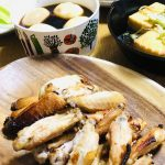 【レシピ:塩麹】「手羽中のニンニク塩麹グリル」外はパリっ‼️噛むとジュワッと柔らかジューシーな食感が最高♪─O(≧∇≦)O─♪