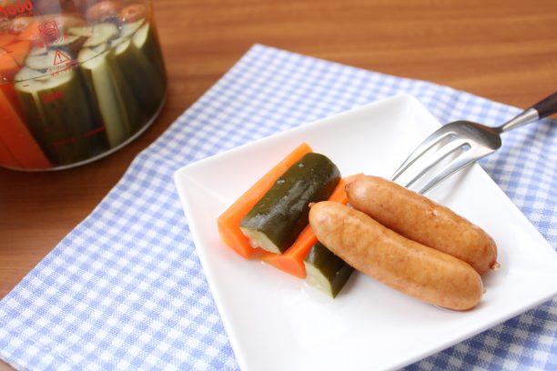 野菜とウインナーのピクルス