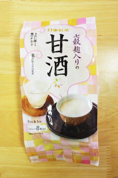 日東紅茶七穀麹入りの甘酒