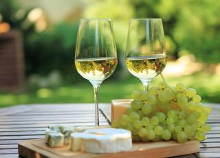ワインの入ったグラス