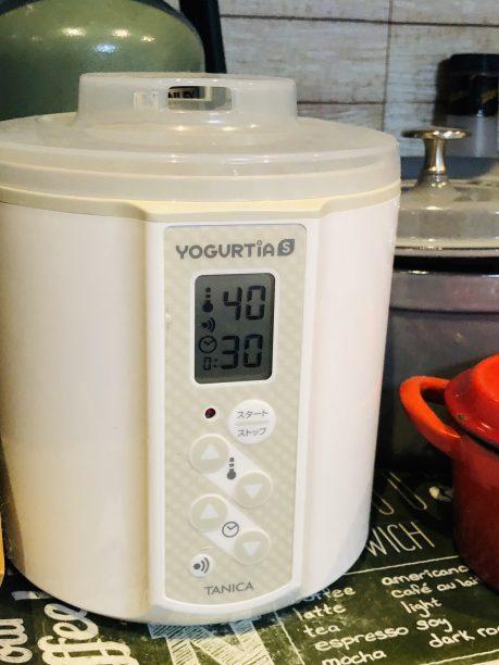 ヨーグルティアS40℃/30分