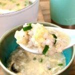 【レシピ:だし塩こうじ】「だし塩こうじのたまご雑炊」さぁ、麹の力で免疫力を上げていきましょう⤴︎⤴︎⤴︎