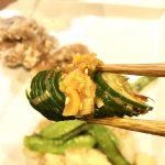 【レシピ】「じゃばらキュウリのピリ辛漬け」ピリッとした豆板醤の辛さとネギ油の美味しさに驚く事間違いなしですd(^_^o)