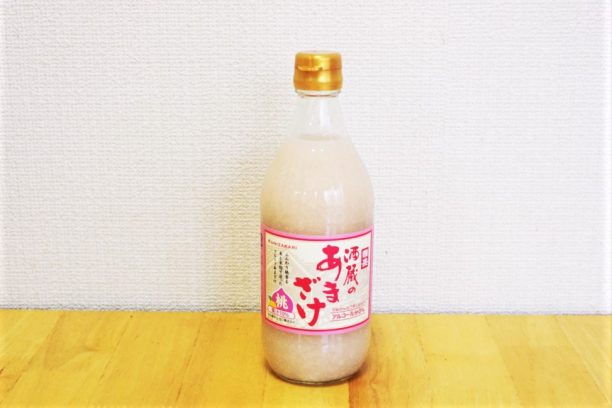 【食レポ:甘酒】酒蔵のあまざけ 桃 編