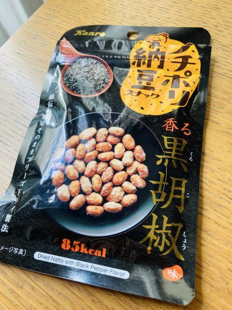 プチポリ納豆スナック香る黒胡椒