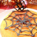 【レシピ:ヨーグルト】「かぼちゃとヨーグルトのケーキ」ハロウィンシーズンにおすすめ☆もっちりふわふわ食感の焼くだけ簡単ケーキ♡