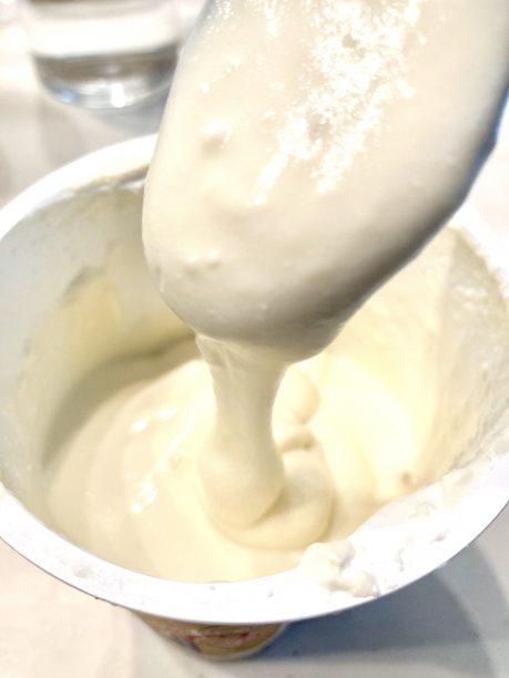 大豆で作ったヨーグルト