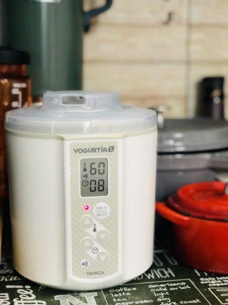 60℃8時間に設定したヨーグルティアS