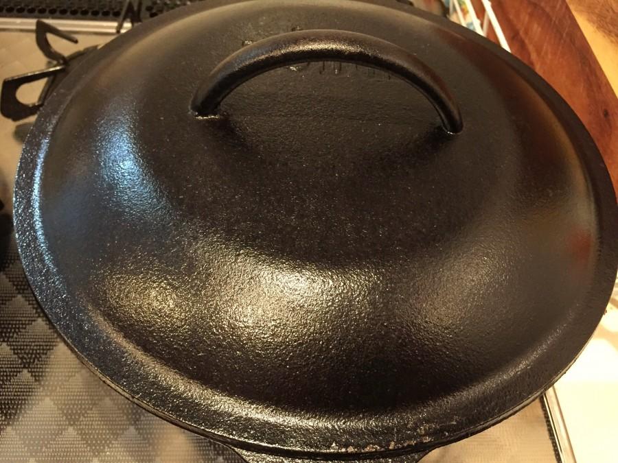 沸騰したら蓋をして弱火で12分加熱します。