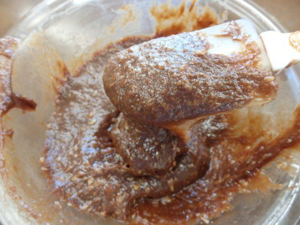 途中で取り出し、かき混ぜてから、さらに3分加熱します。